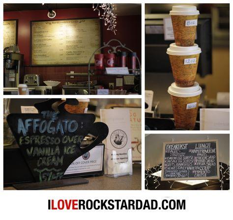 Inside Jamestown Coffee Co. Lexington, SC.