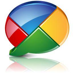 Baju Google Talk Pie Chart Buttons