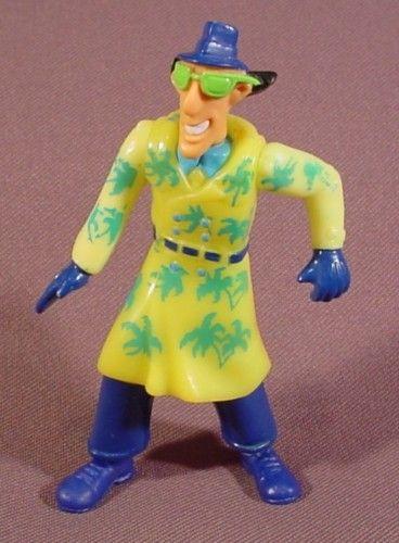 Scuba Figure 1991 Inspector Gadget Burger King Kid/'s Club Toy
