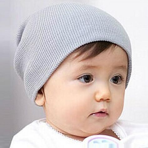 b95eebe886a Baby Beanie Boy Girls Soft Hat Children Winter Warm Kids Knitted Cap GY   fashion  clothing  shoes  accessories  babytoddlerclothing   babyaccessories (ebay ...