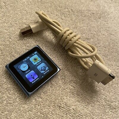 Ad Ebay Link Apple 8gb Ipod Nano 6th Generation Graphite Mc689ll A1366 6 10 Condition Consumer Electronics Portable Audio Electronic Products