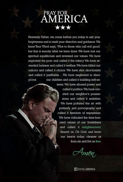 Billy Graham Prayer for America 2014 .....