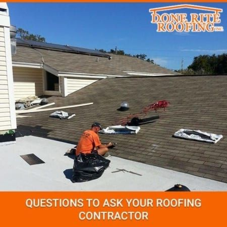 Questions To Ask Your Roofing Contractor Roofing Contractors Roofing Contractors