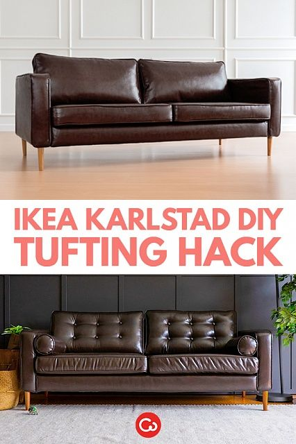 Brilliant Make Your Sofa Look More Expensive With A Simple Diy Tufting Uwap Interior Chair Design Uwaporg