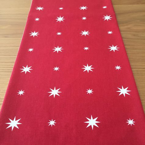 Christmas Table Runner Uk.Christmas Table Runner Red Table Runner Red White Star