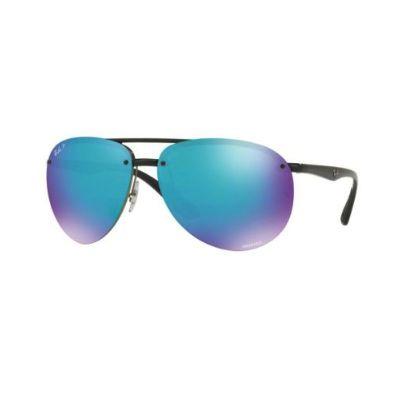 a9ff4e1d51f67 US  119.00 NEW Ray Ban RB4293 CH 4293 601 A1 Black Blue Polarized Chromance  Sunglasses 64mm  fashion  style  health  beauty  onlineshopping  ebay   authentic ...