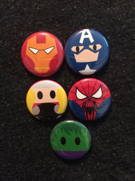 Avengers Infinity Wars inspired 1 inch Buttons! Perfect for Disney park bags, lanyards, and jackets!