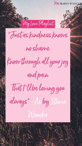 As - Stevie Wonder - My Love Playlist
