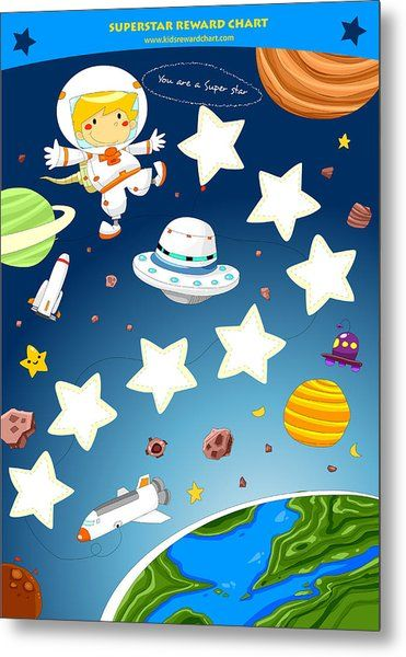 Superstar reward chart by Rachel Fairy in 2020 | Reward chart kids ...