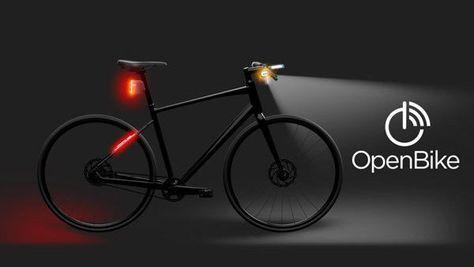 Am Fahrrad Befestigte Smartphones Navigationsanzeigen
