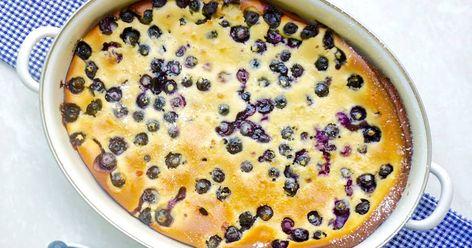 Blueberry Clafoutis Recipe | Yummly