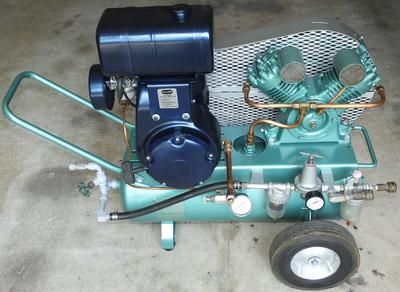 Jacuzzi Bros 331 Twin Cyl Compressor Looking For The Owner S And Parts Manual I Recall About 4 Pages Including Maintena In 2020 Compressor Air Compressor Vintage Air