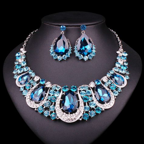 nail Indian Crystal Necklace And...