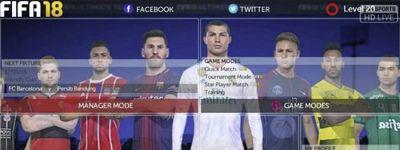 FTS Mod FIFA 18 Gojek Liga 1 Indonesia by GilaGame Android Terbaru
