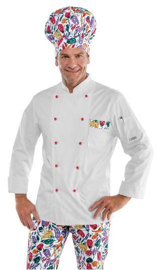 Isacco Pantalone Cuoco Vienna Nero Isacco Vienna Nero 65/% Poliestere 35/% Cotone 3XL