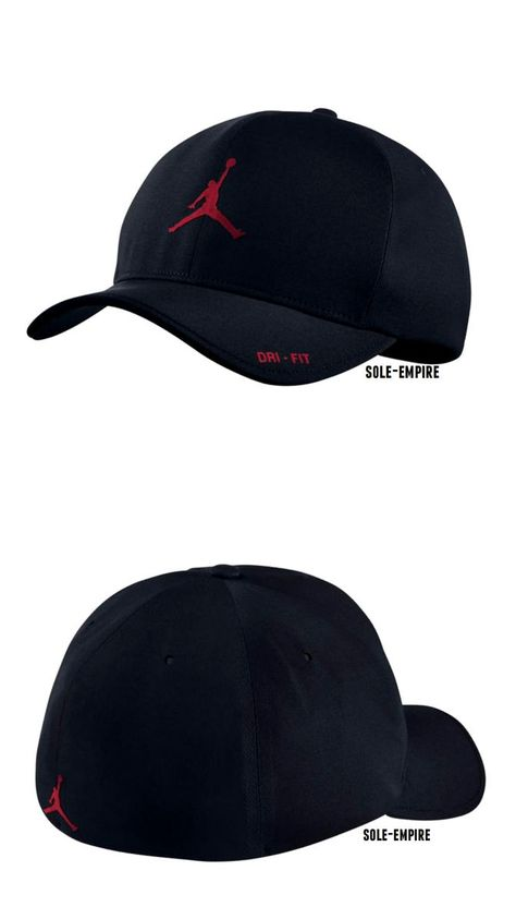 3426d3f4208697 Hats 52365  Nike Air Jordan Classic 99 Fitted Hat 801767-011 Black Red Mens  Dri-Fit Stretch -  BUY IT NOW ONLY   33.97 on eBay!