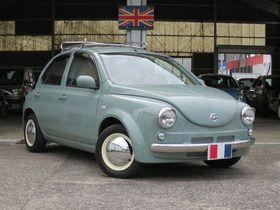日産paoのオリーブグレーで全塗装 かわいい車 車 塗装 Diy ミラジーノ