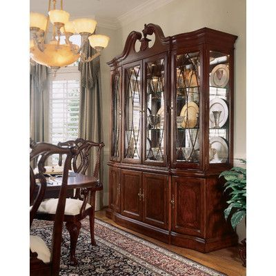 Astoria Grand Staas Traditional Wood China Cabinet