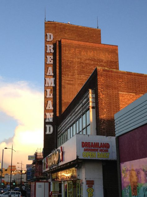 Dreamland, Margate - I love Margate and so want the current regeneration project to be a success! It has such potential, and a fantastic beach - come for a day and see for yourself!