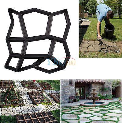 DIY Pflasterform Schalungsform Garten Gießformen  Pflastersteine Betonpflaster
