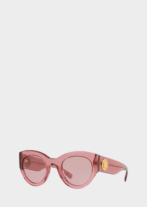 6b84296974 Versace Vintage Pink Tribute Sunglasses for Women