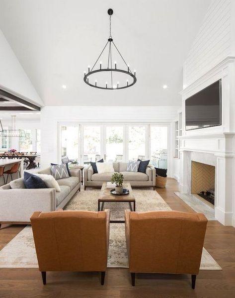 40+ Cozy Look Living Room Lighting Lamps Decor Ideas