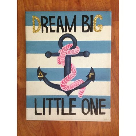 A custom painting for a Delta Gamma! Contact me for  your own or visit my Facebook page to check out more of my work! #DG #deltagamma #sorority #quote #big #little #anchor #rope #painting #canvas #custompaintings #kassandracamillaart #acrylic #greeklife #CamillaCreations