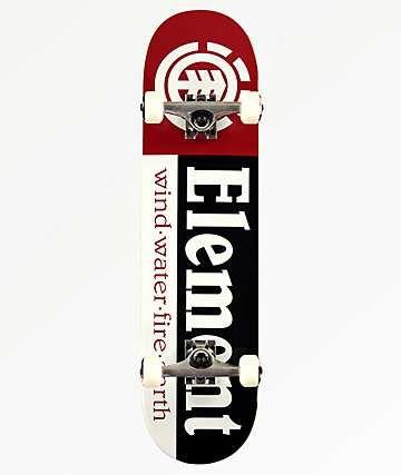 Element Section 8 0 Skateboard Complete Zumiez In 2020 Complete Skateboards Skateboard Element Skateboards