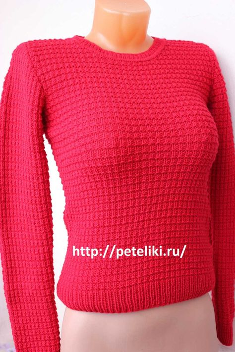 как связать свитер женский стероиды