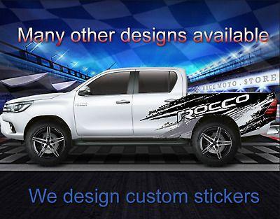 NEW Logo Toyota Hilux Vigo Truck Emblem DECAL GENUINE