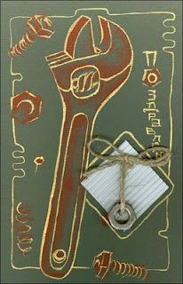 "Freelance artist & crafter: Handmade cards for Men ""Kaleidoscope"""