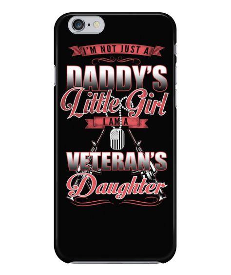 Veteran's Daughter Phone Case