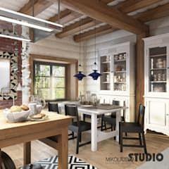 Wiejska Jadalnia W Nowoczesnej Odslonie Mikolajskastudio Wiejska Jadalnia Homify Interior Design Home Decor Home