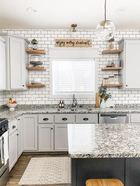 Home, Diy Kitchen Renovation, Kitchen Diy Makeover, Kitchen Redo, Home Kitchens, Farmhouse Kitchen Design, Diy Kitchen, Kitchen Renovation, Kitchen Design