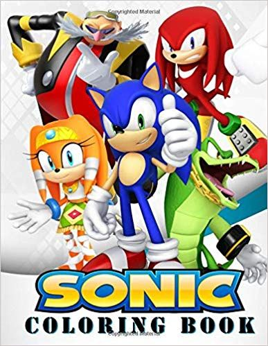 Pin By Scott Gamble On The Fastest Thing Alive Coloring Books Sonic Books