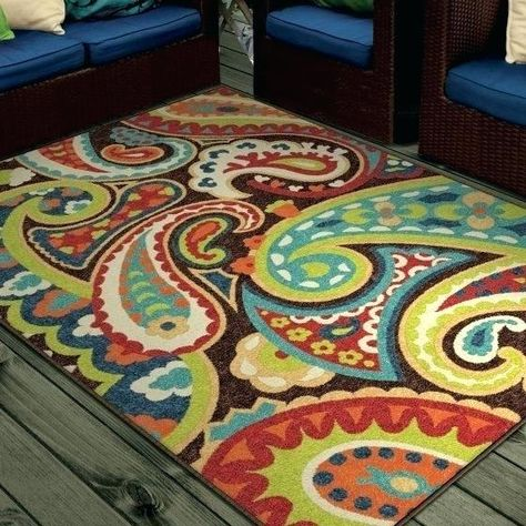 Fresh Bright Colored Outdoor Rugs