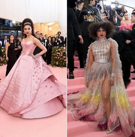 Who Do You Think Nailed The Camp Theme At The Met Gala 2019 A Deepika Padukone B Priyanka Chopra Jonas Me Pink Dress Celebrity Wedding Photos Met Gala