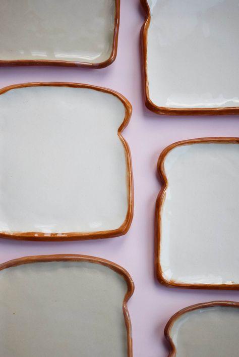 Ceramic Bread Plate