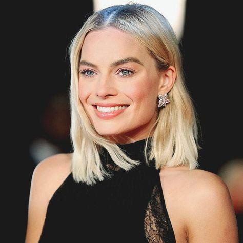 Margot Robbie ✾  Celebrity Short Haircuts