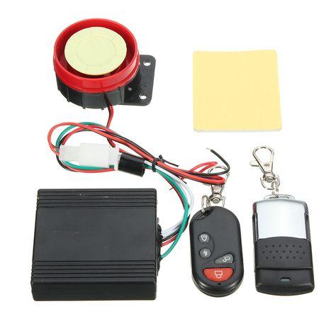 12v Moto Vehiculo De Seguridad Antirrobo Coche Sistema De Alarma