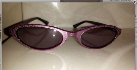 9bf19a1b1a2e Details about JUDITH LEIBER JL1113 Violet Black Eyeglass Eyewear Frame  Rhinestones