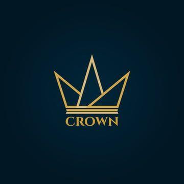 تاج شعار التصميم Logo Design Crown Logo Design