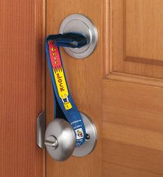 Super Grip Lock Deadbolt Security Straps Home Security Home Alone Cool Stuff