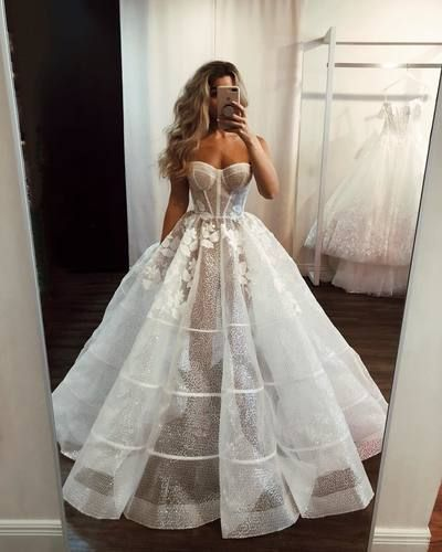 Sexy Illusion White Long Bridal Gown · modsele · Online Store Powered by Storenvy