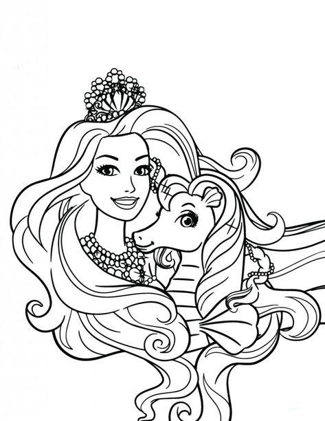 Desenhos Para Colorir De Barbie Colorir Barbie Barbie Desenho Paginas Para Colorir