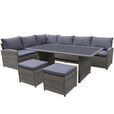 Grey Modern Garden Furniture