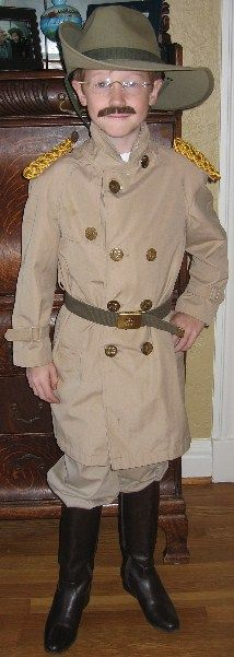 Teddy Roosevelt Cosplay  sc 1 st  Pinterest : teddy roosevelt costume for kids  - Germanpascual.Com