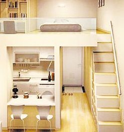 officetel<3 normally given in Seoul, the loft style apartments for ...