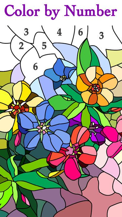 Happy Color Color By Number App Download Android Apk Happy Colors Coloring Books Coloring Apps