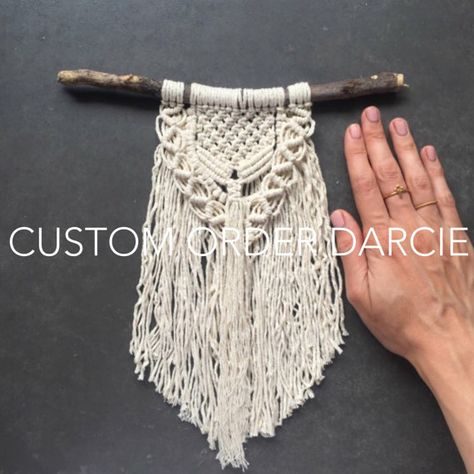 Etsy の Custom Macrame Wall Hanging by Meyouandjack